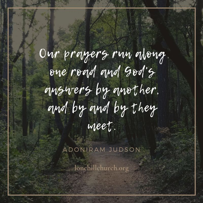 Quote AJudson Prayers